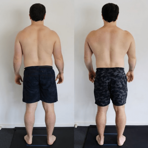 dan back before and after - functional patterns
